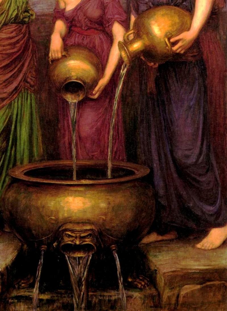 Tartaros: Feuerrad, Fass, Freveltat (griechische Mythologie)