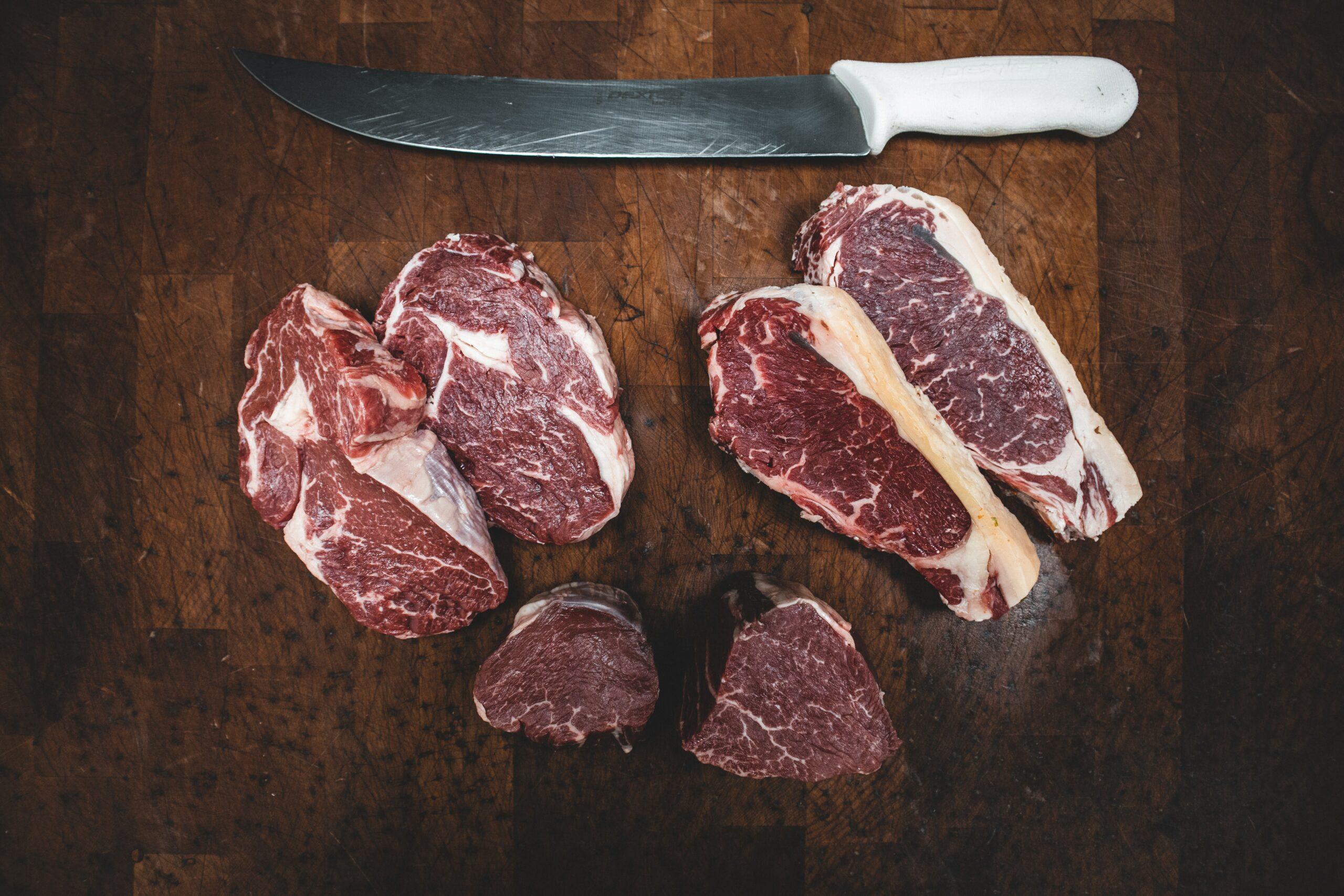 Weniger Fleisch für besseres Klima