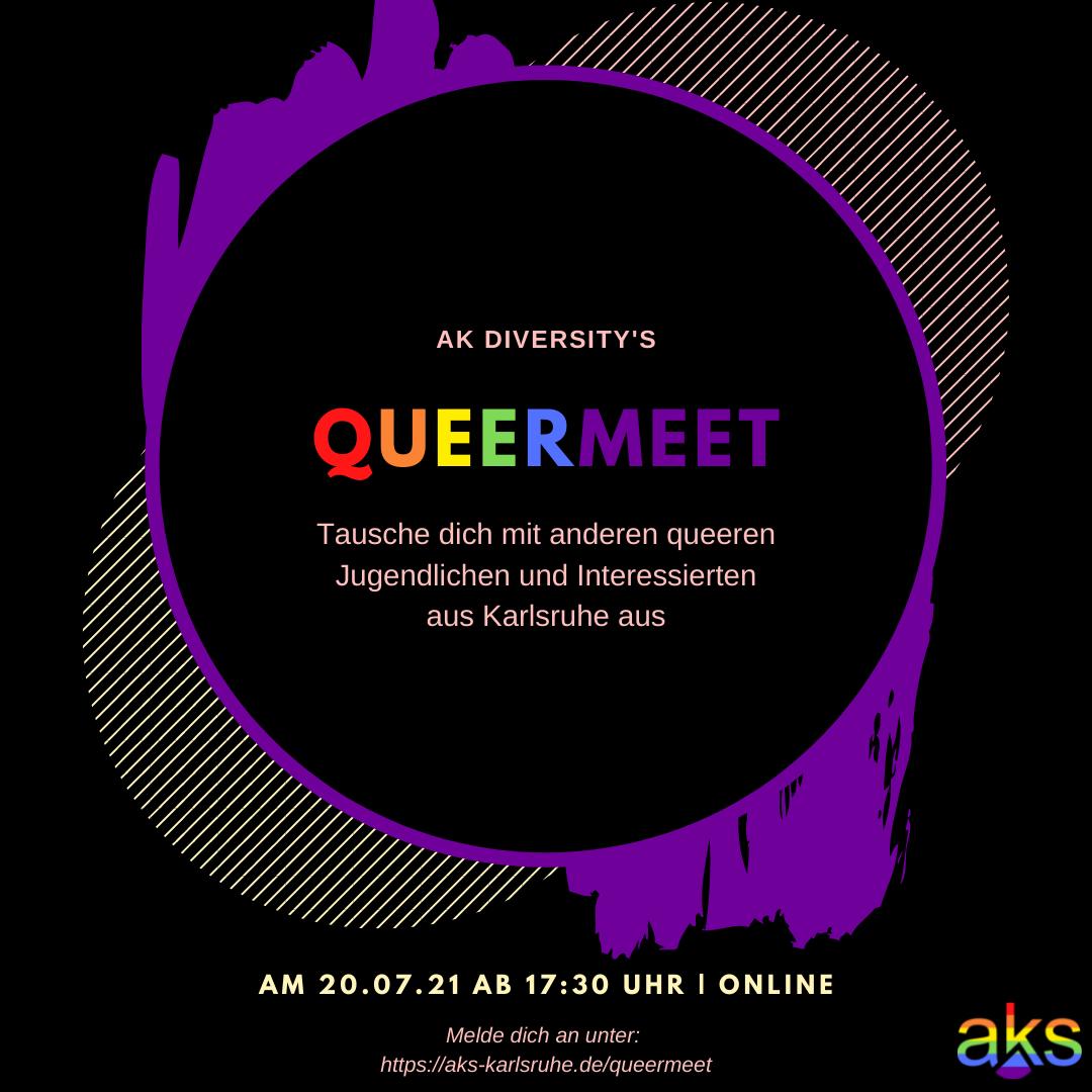 Read more about the article [20.07.21] QueerMeet für Karlsruher Schüler:innen des AKS