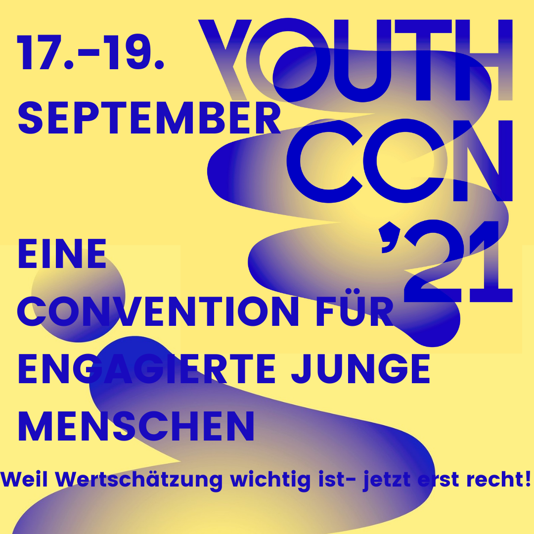 Read more about the article [bis 10.09. anmelden] YouthCon '21